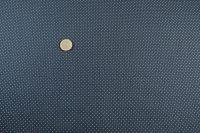 Popelin vianoce dots/blue