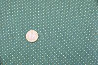 Popelin vianoce - green dots