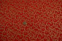 Vianočná potlač - red/gold
