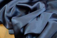 Silk satin stretch blue