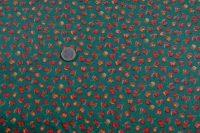 Potlačená bavlna - fruit - green