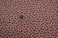 Potlačená bavlna fruit - pink