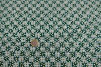 Potlačená bavlna - cheks green