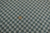 Potlačená bavlna - cheks blue