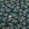 Popelin vianoce shadow cesmina green