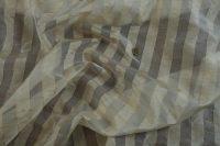Hodvábna organza - stripe