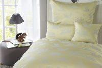 Detská damašková posteľná súprava veverička - yellow