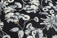 Elastická bavlna flowers