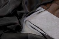 Hodvábny šifón/mušelín black Valentino