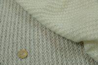 Pletáž s lurexom white